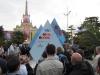 Установка Олимпийских часов обратного отсчета в Сочи