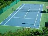 Спортивное оснащение теннисных кортов