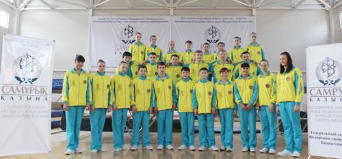 Поставка оборудования для федерации гимнастики Казахстана.