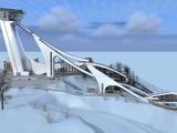 Комплекс лыжных трамплинов