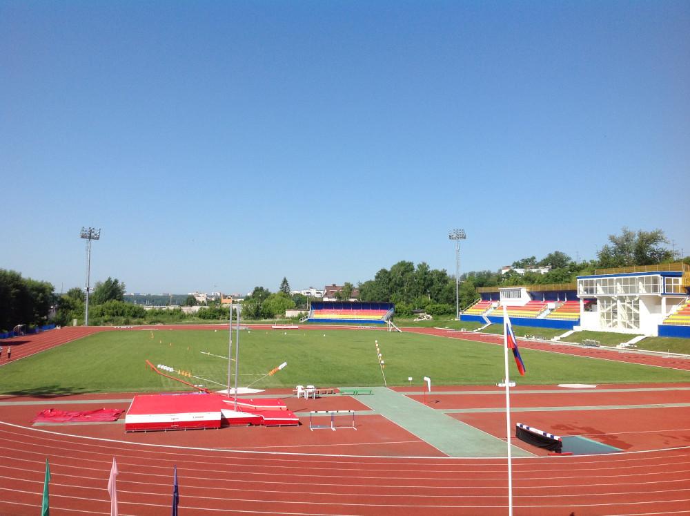 Стадион «Юность» г. Калуга, Россия
