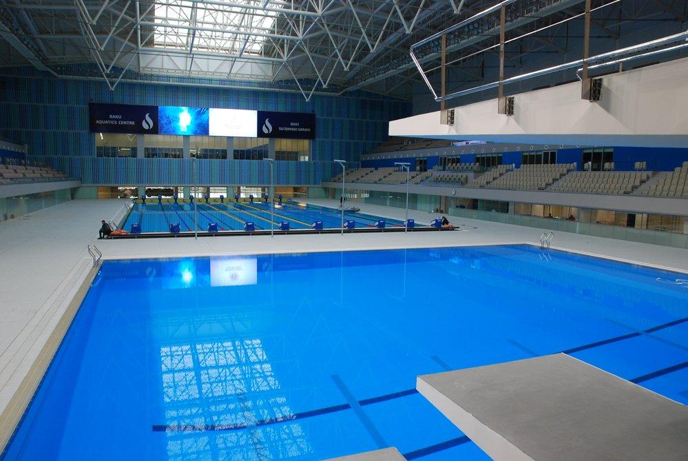 Спортивное оснащение бассейнов