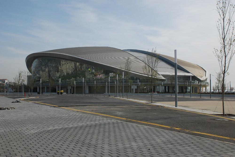 Дворец водных видов спорта г. Баку, Азербайджан