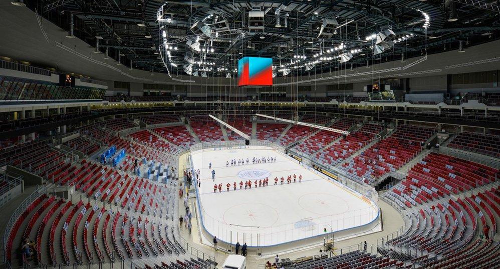 Спортивное оснащение ледовых арен