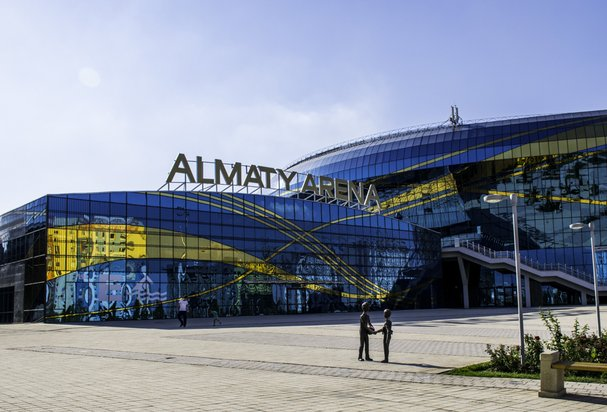 Ледовый дворец Almaty Arena г. Алматы, Казахстан