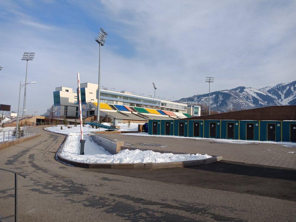 Лыжно-биатлонный комплекс «Алатау» г. Алматы, Казахстан