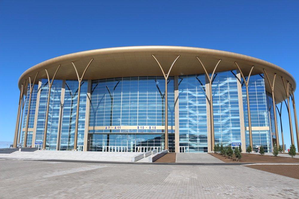 Ледовый дворец «Барыс Арена» г. Астана, Казахстан