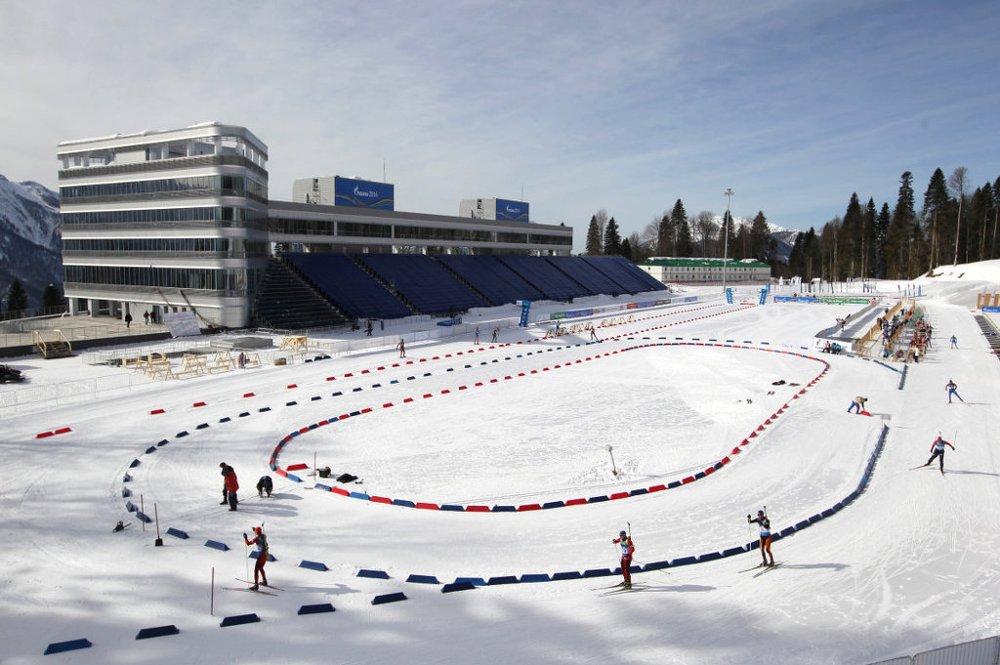 Лыжно-биатлонный комплекс «Лаура» г. Сочи, Россия