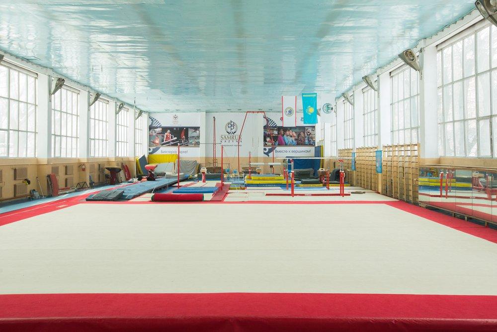 Академия гимнастики Нелли Ким г. Алматы, Казахстан