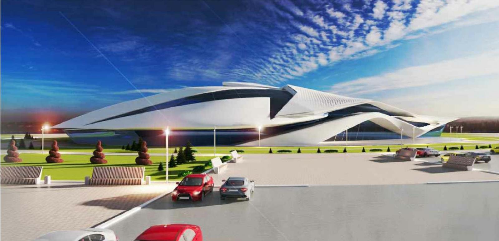 Поставлено оборудование для нового Дворца водных видов спорта
