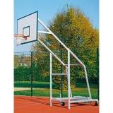 Стойка для баскетбола алюминиевая мобильная 704