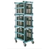 Тележка для хранения с контейнерами TROLLEY - CTX EURONORM E4
