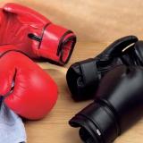 Перчатки боксерские кожаные 317