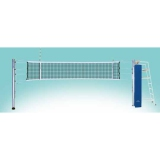 Комплект для волейбола международного уровня телескопический