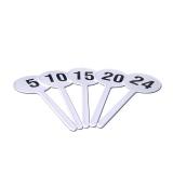 Набор табличек-индикаторов времени атаки