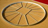 Круг для соревнований по толканию ядра.