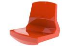 Моноблочное сидение с высокой спинкой (35 см). Утверждено FIBA, рекомендовано UEFA / FIFA