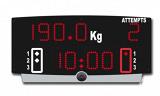 Портативное табло для тяжелой атлетики