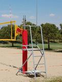 Судейская площадка для пляжного волейбола