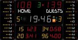 Универсальное табло для игровых видов спорта AVSR1007