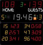Универсальное табло для игровых видов спорта AVSR1021