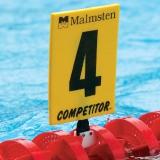 Номера к разделительной дорожке Competitor Gold