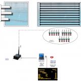 Система судейства и хронометража для прыжков в воду