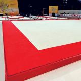 Покрытие ковровое 13,05х13,05 м для тренировок по спортивной гимнастике