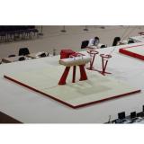 Комплект матов зоны приземления для махового коня - Сертификат FIG
