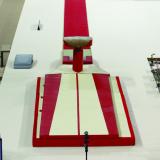 Комплект матов зоны приземления для опорного прыжка - Сертификат FIG