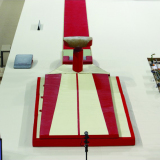 Комплект матов зоны приземления  с дополнительным матом для опорного прыжка - Сертификат FIG