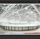 Борт для хоккея с шайбой с ограждением из акрила - IIHF