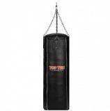 тяжелый боксерский мешок из кожи 120