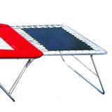 Большие страховочные столы для больших соревновательных батутов