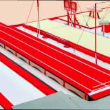 Дорожка для акробатических прыжков - Сертификат FIG