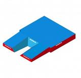 Место приземления для прыжков с шестом, модель Federal comfort plus single cover.
