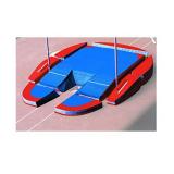 Место приземления для прыжков с шестом, модель Concept iv modular. Сертификат IAAF.