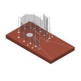 Cектор для метания молота из алюминия. Сертификат IAAF.