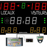 Универсальное табло для игровых видов спорта, модель 452 MD 7000