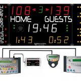 Универсальное табло для игровых видов спорта, модель 452 MD 7020