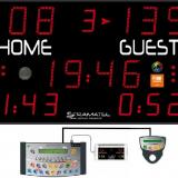 Универсальное уличное табло для игровых видов спорта, модель PRO 452 XMB 7000