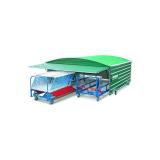 Ангар защитный для 2х тележек для барьеров
