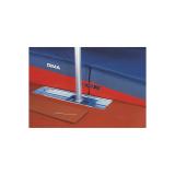 Комплект удлиненных рельс для установки в основание с подвижной кареткой и крышкой