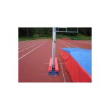 Протектор для удлиненног короба с рельсами для установки стоек прыжков с шестом