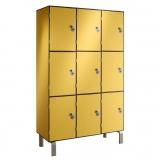 Шкафчики для раздевалок в ассортименте, серия Q