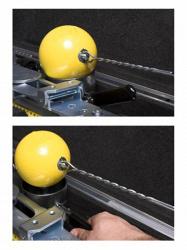 Измерительный комплект для метания молота. Одобрено IAAF