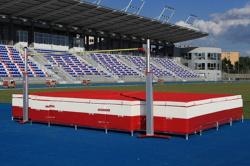 Место приземления для прыжков в высоту. Сертификат IAAF