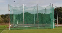Клетка защитная для метания диска. Сертификат IAAF
