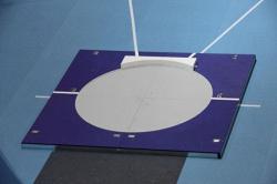 Платформа для толкания ядра. Сертификат IAAF