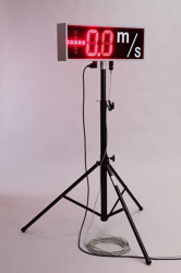 Индикатор скорости ветра